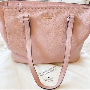 Pink Kate Spade Tote Bag